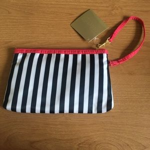 New! Stripes! Cosmetic bag!
